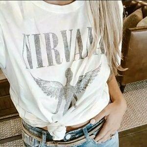 Nirvana classic reprint tshirt